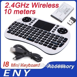 I8 mini keyboard Innovative shape, protable, elegant.