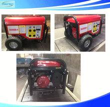 China Competitive Price 6.5KW Gasoline Generator Set