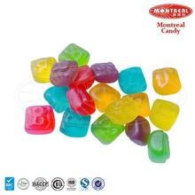 Haccp halal candies fruit juice candy