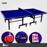 Love Pingpong Single Folded Table Tennis Table With Wheels
