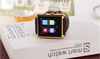 Gold color business style DM08 Wifi and gps smart watch bluetooth DM08 smart watch for mobile phone