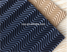 High quality PVC rubber material crepe shoe sole sheet