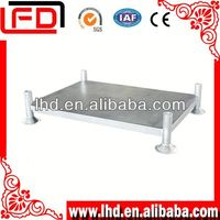 2-way entry powder coating stainless steel pallet of clothing