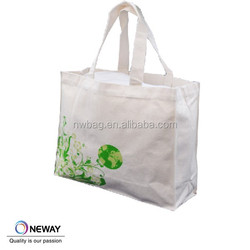 Large Handled Cotton Shopper Bag with Gussets
