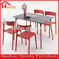 best selling product modern wooden furniture,black wood dining table