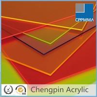 different color clear transparent hard plastic sheet