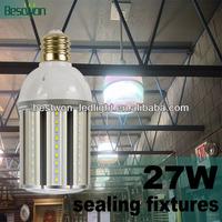 Super brightness bulb 27w led corn lamp samsung SMD5630 leds LM80 Tested 100-130m/w CRI>80 PF>0.9