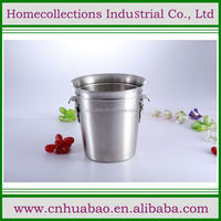1L/3L/5L/20L Cheapest Price Africa Style Stainless Steel Colorful Water Flower Bucket/ Metal Bucket With Flower