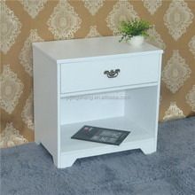 Factory direct sale solid wood furniture to wooden nightstand