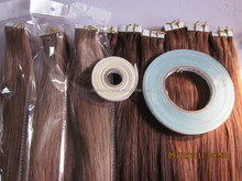 """#1, #1b, #2, #4, #18/613, #60 in stork! 22"""" Tape Extension,Skin Weft,PU Weft, Germany/USA Blue Tape, no shedding"""