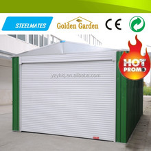 Home &garden used galvanize steel car garage with negotiable price