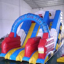 monster inflatable slide , NO.1810 spiderman inflatable slide