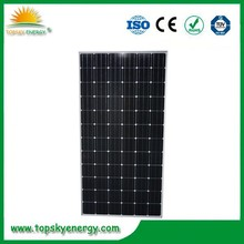 High quality grade A monocrystalline solar panels for air conditioner with TUV UL