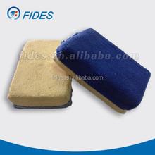 Microfiber genuine leather polishing car chamois pad