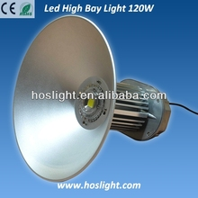 Meanwell driver IP65 Bridelux cooper led high bay light 120w 100lm/W for warehouse
