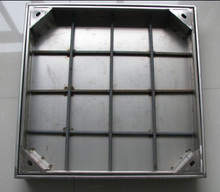 Stainless steel inspection manhole cover