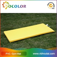 2015 Top sale and fashion trend eco-friendly fire-retardant pvc foamed yoga mat