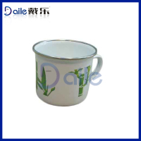 Enamelware Mug suction cup for breast
