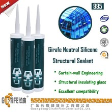 Hot sale silicone sealant for curtain wall RTV UV Resistant silicone sealant