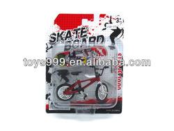 Hot Sale Metal Finger Skateboard Toy with Bike