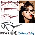 Nuevos productos 2015 moda gafas marcos eyewear mujeres acetato marcos de anteojos venta al por mayor gafas graduadas