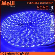outdoor decoration high brightness smd 5050 waterproof flexible led strip lights 220v