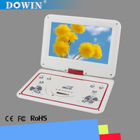 Unique Design Private Model 10.1 inch Portable DVD with VGA Resolution manufacture wholesale OEM nice quality USB TV GAME SD