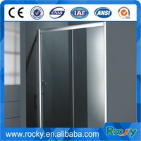 Best price tempered bathtub glass shower wall panels