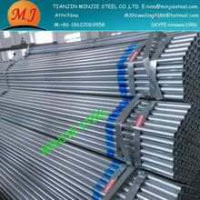 Electrolytic galvanized scaffoding steel pipe with BS1139-1775 standard
