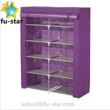 PN Home Shoe Rack Shelf Storage Closet Organizer Cabinet Portable 5 Layer All Types of Shoe Racks