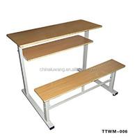 School Furniture School Desk Chair, 2014 Hottest School Desk Chair