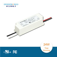 2015 hot sale Inventronics 24W 1050ma traic dimming switch led driver supply