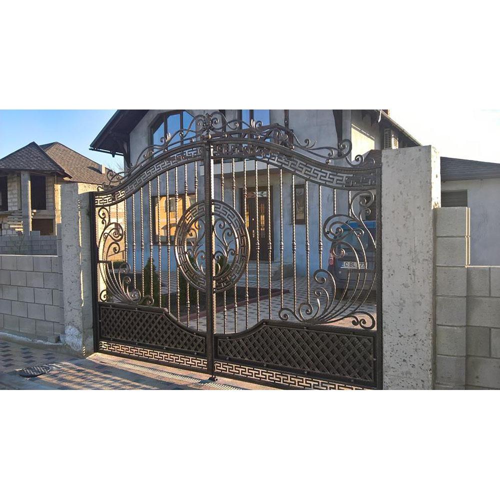 Cheap Modern House Wrought Iron Main Gates Designs Simple