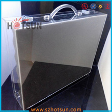custom transparaency suitcase/briefcase for wholesale