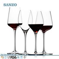 Wholesale High Quailty Handmade crystal red wine glass