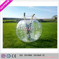 Lilytoys Durable Crazy Game inflatable body bubble ball