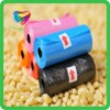 dog poop bag alibaba / pet waste bag wholesale / bag on roll