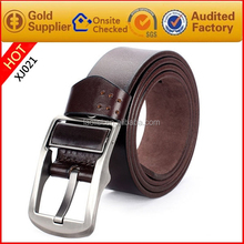 Pin Buckle MexicanGenuine leather belt with pattern China supplier