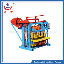 Quick in product shaping block machine industry