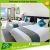 white cotton hotel bedding set