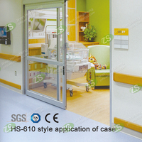 CE Certificated decorative pvc wall corner protection with antibacterial function for hospital