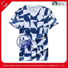 2015 Latest design high quality men super soft 100% cotton t-shirt