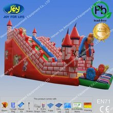 whole sale price inflatable laser tag slide