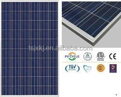 Grade A Poly 250w solar panel solar cells