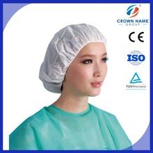 Medical disposable items surgical spunlace mesh scrub caps, nurse hat, bouffant caps
