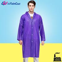 Low cost plastic pvc waterproof breathable rain suit