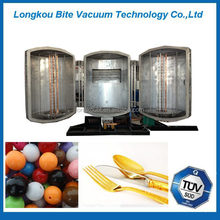 plastic pearl beads plastic vacuum metalizing machine/equipment/plant