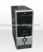 Hot sale PC Case ATX 0.5MM Thickness black with silver