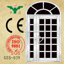 china supplier natural color arch 304 stainless steel door