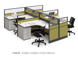 Modern Muebles De Oficina Modernos wooden office table SY-F007 office furniture professional